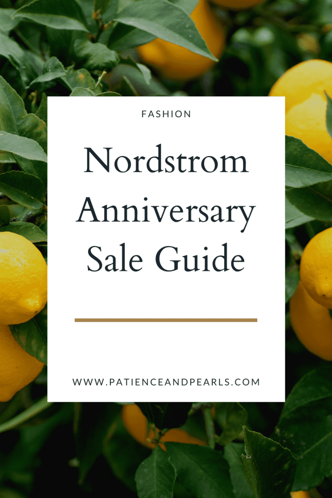 Patience & Pearls Nordstrom Anniversary Sale