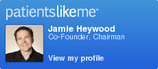 PatientsLikeMe member JamesHeywood