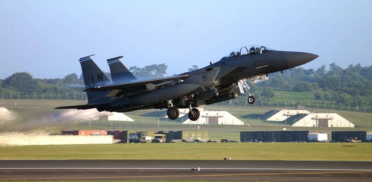 jet, takeoff, military