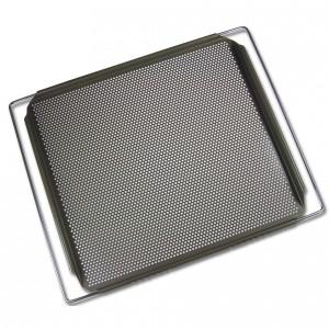 plaque de cuisson perforee ajustable