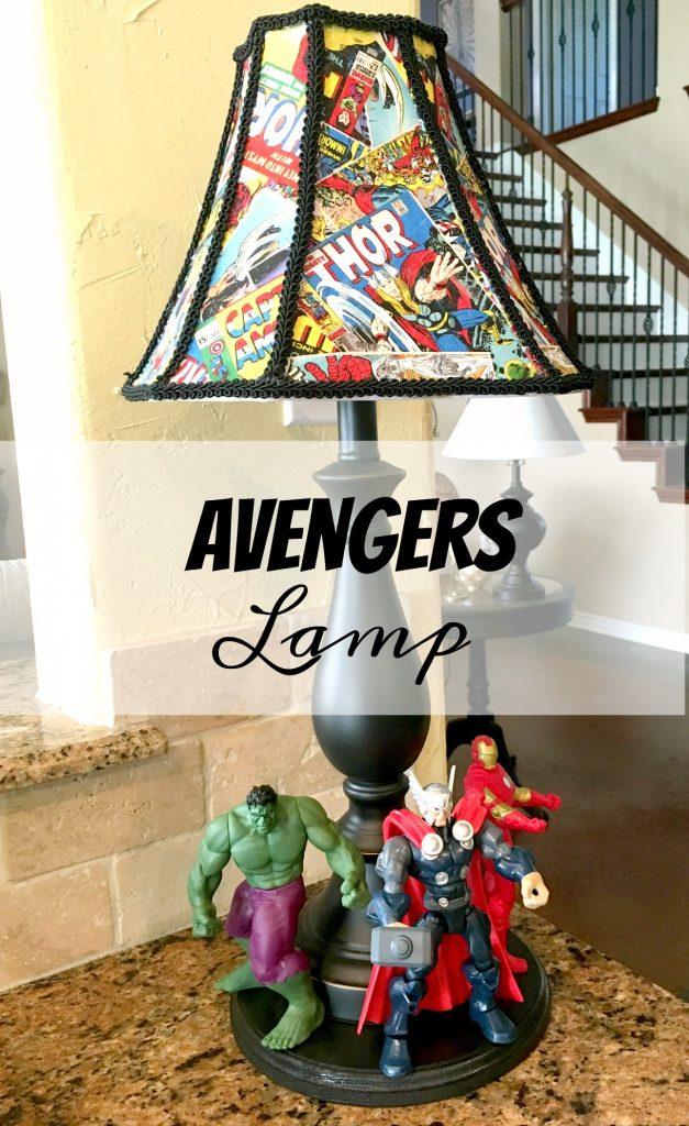 Avengers Lamp 8