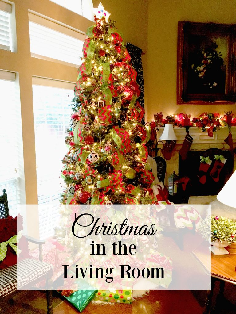 Christmas In The Living Room Patina And Paint