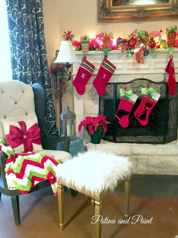 Christmas in the Living room 7