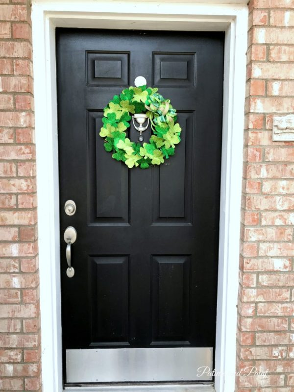 Decorating for St. Patrick's Day