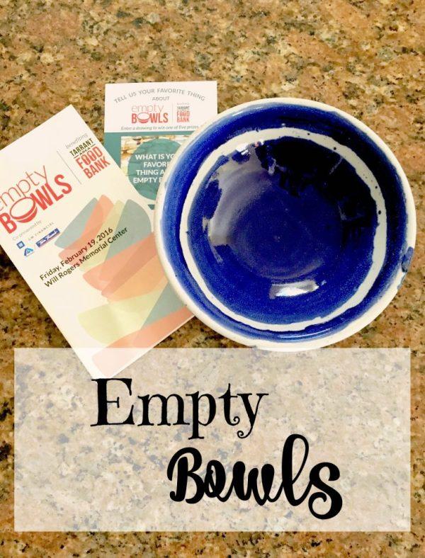 Empty bowls 13