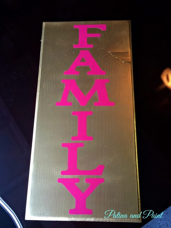 Family sign 3