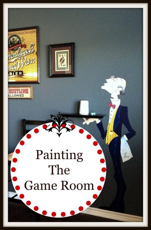 Game room logo