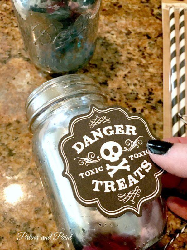Halloween mason jar 7