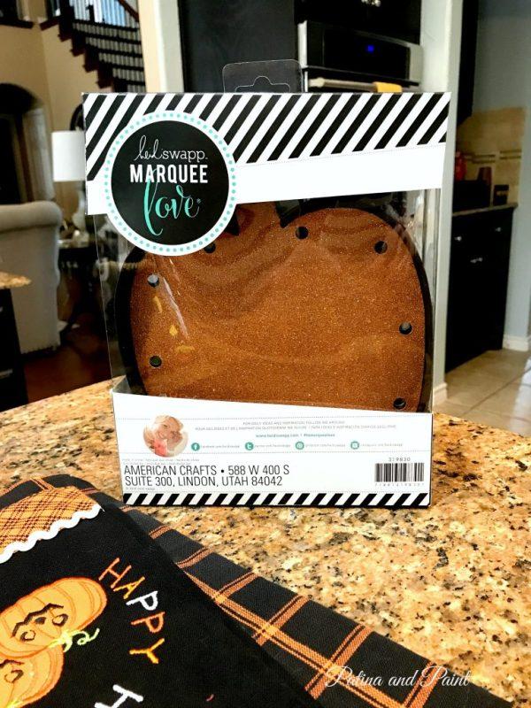 pumpkin marquee kit
