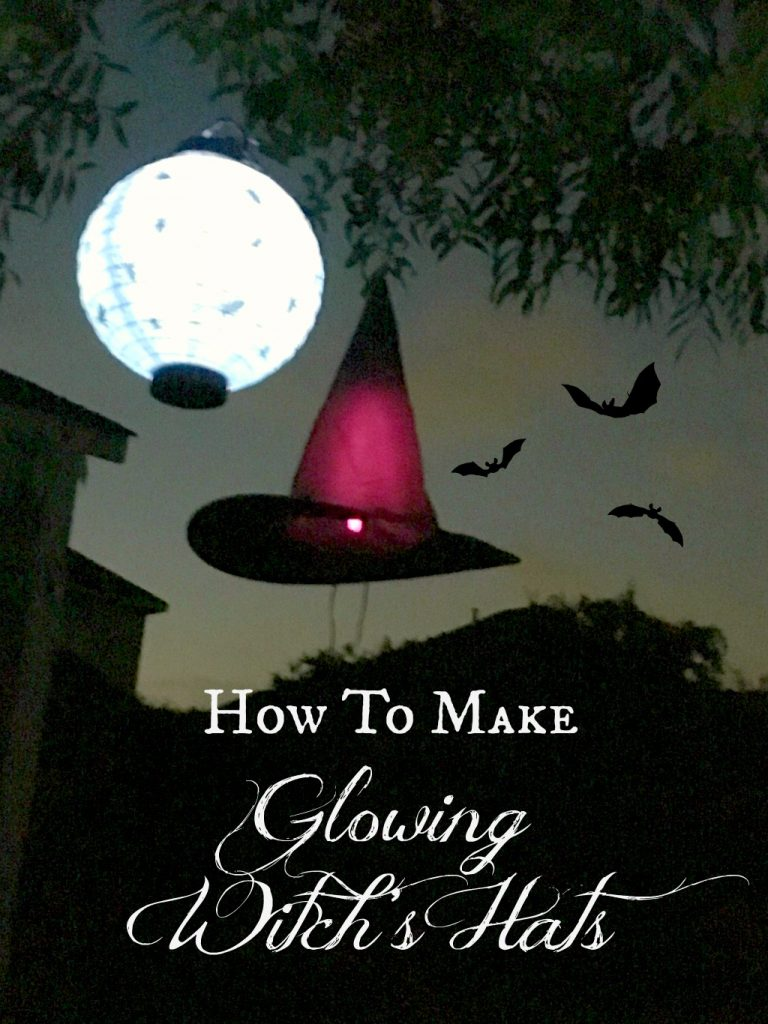 How To Make A Glowing Witch's Hat