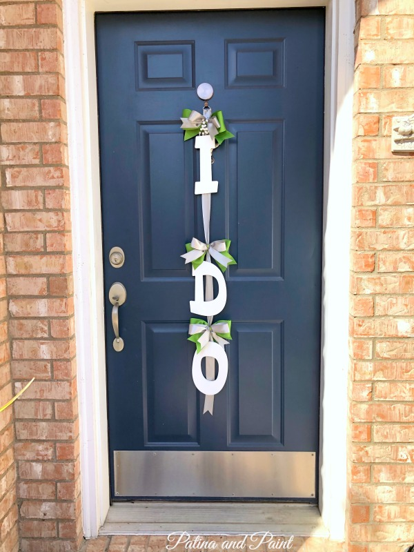 I Do Door Hanger
