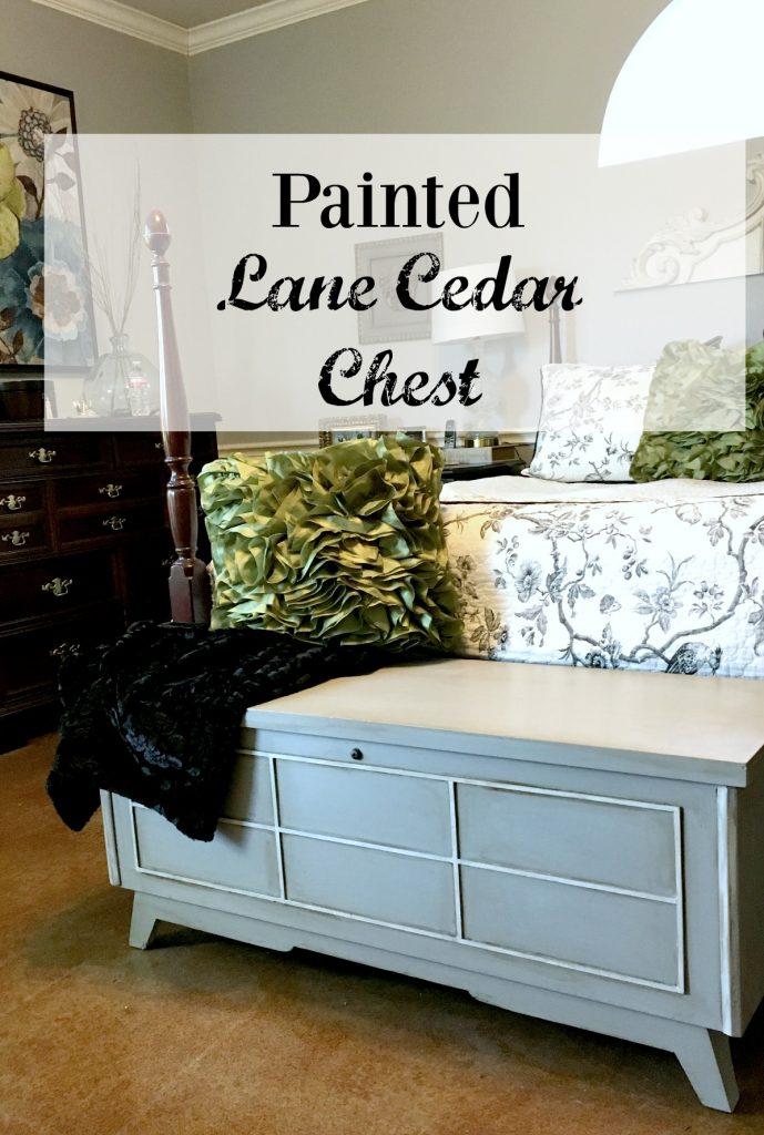 Painted Lane Cedar Chest