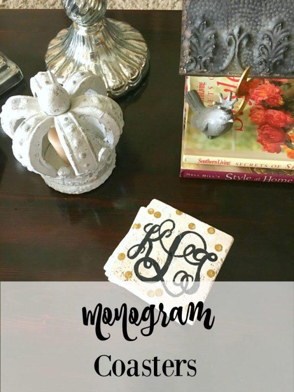 Monogram Coasters 13