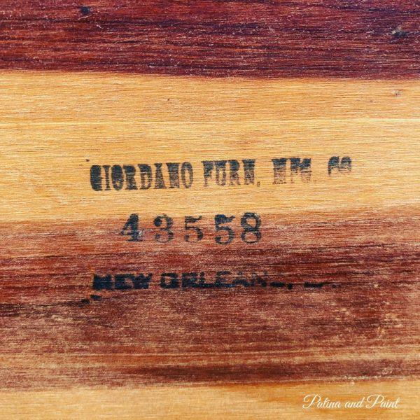 furniture stamp
