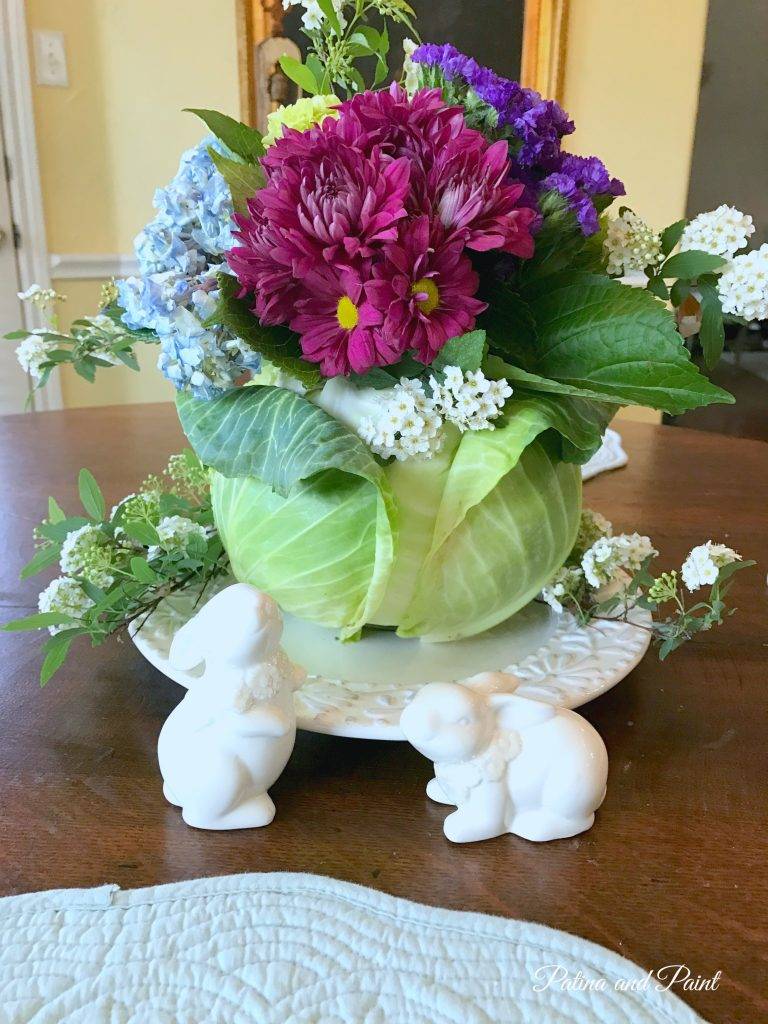 My Favorite Spring Flower Arrangement Patina And Paint