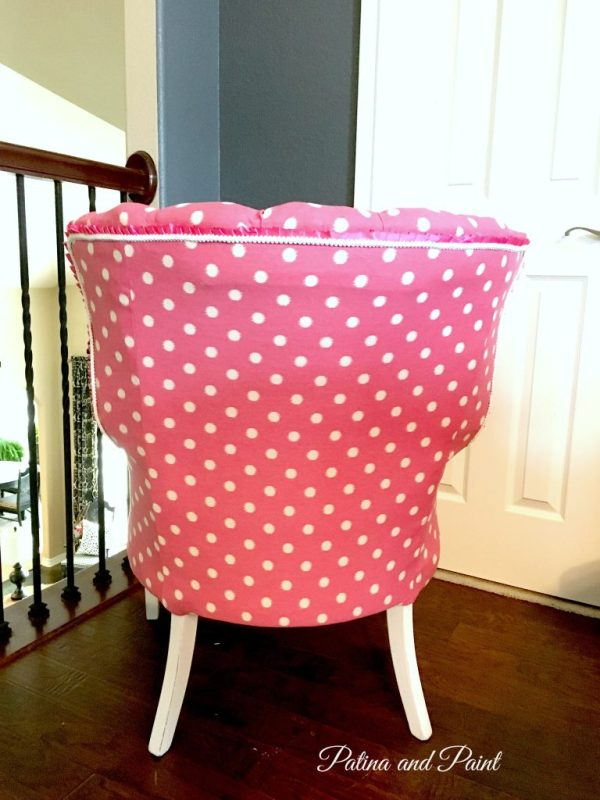 My pink chair 7