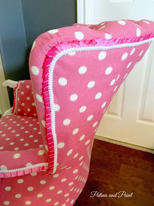 My pink chair 8
