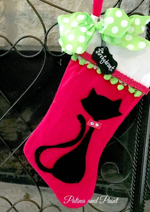 DIY Christmas Friday #3 Pet Christmas Stocking 4