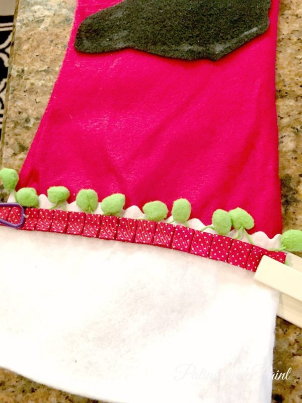 DIY Christmas Friday #3 Pet Christmas Stockings 12