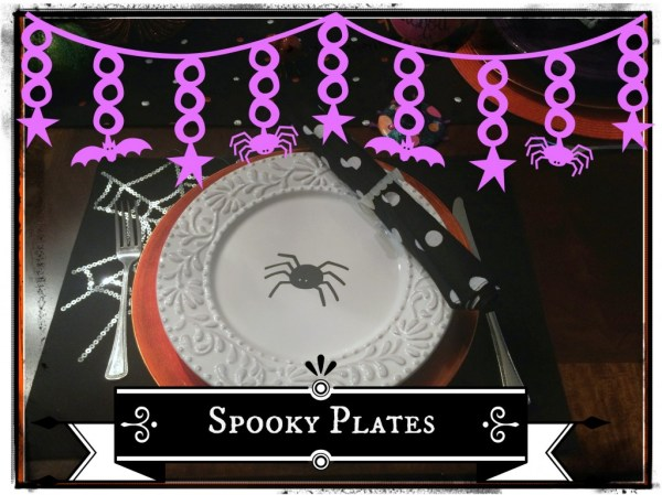 Spooky plates banner