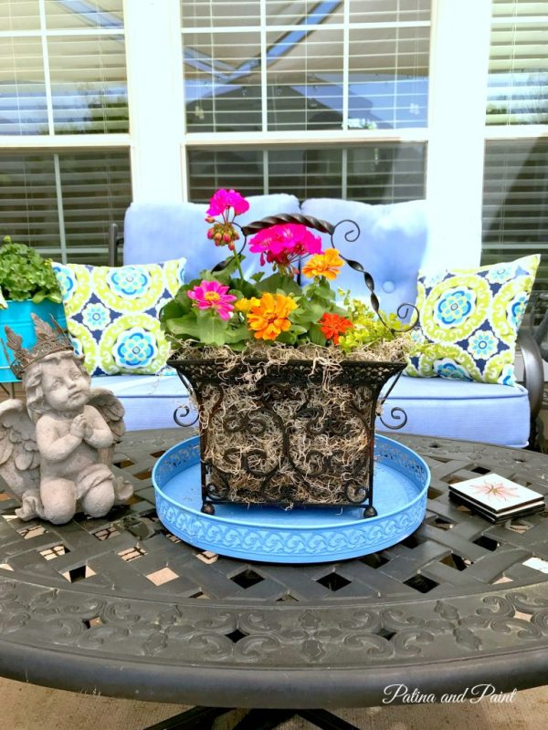 up- cycled planter