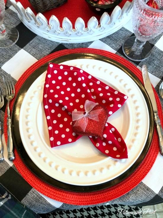 Valentines Day Napkin
