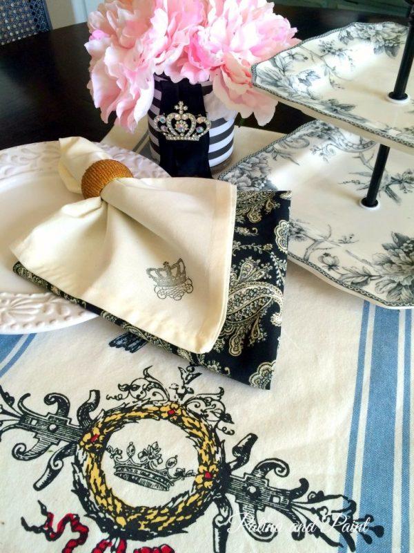 crown napkin 3