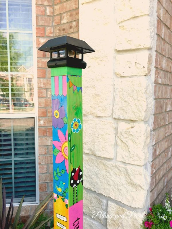 garden pole 2