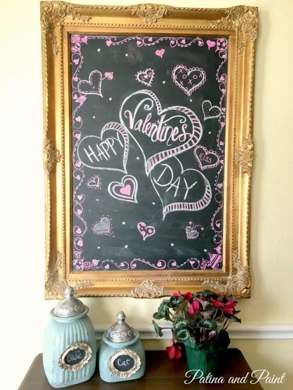 valentines kitchen 1