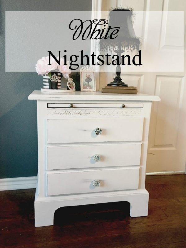 white nightstand 8