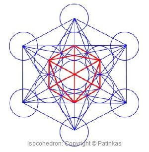 Metatron Isocohedron