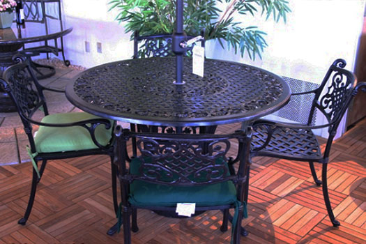 cast aluminum patio furniture raleigh