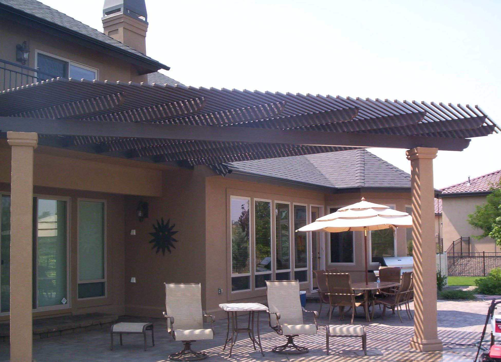 Patio Covers Open Latice Patio Covers Unlimited