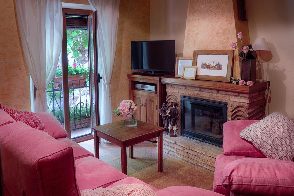 Casa rurales en Riópar - Sala de estar
