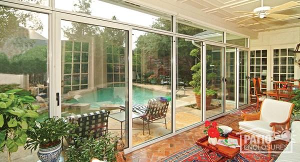 enclosed patios ideas design Porch Enclosure Designs & Pictures | Patio Enclosures