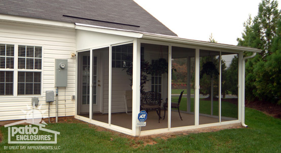 Screened-In Porch Ideas, Designs & Decorations - www ... on Patio Enclosure Ideas  id=86188