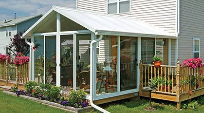 Sunroom Pictures, Sun Room Photos & Sunroom Ideas   Patio ... on Outdoor Patio Enclosure Ideas  id=25921