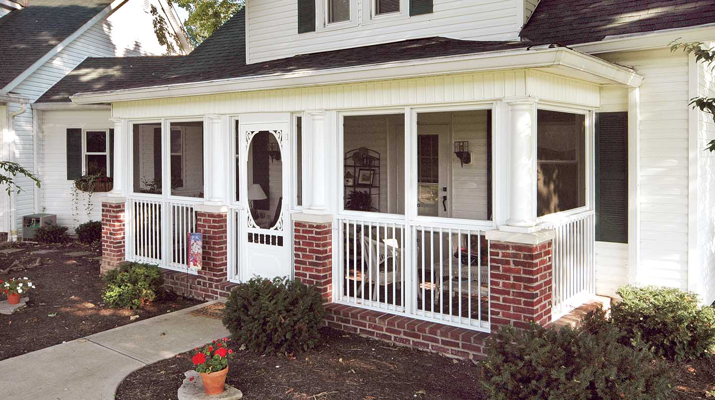 Screen Room & Screened In Porch Designs & Pictures | Patio ... on Inclosed Patio Ideas  id=14993