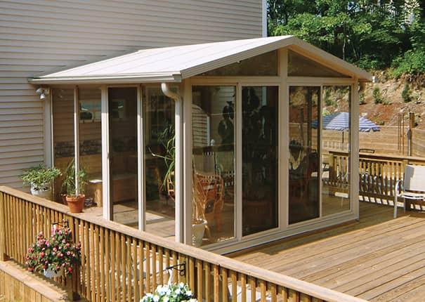 sunroom kit easyroom diy sunrooms