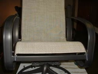 This image has an empty alt attribute; its file name is Woodard-Patio-Chair-Sling-Installation-9.jpg