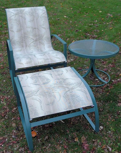 This image has an empty alt attribute; its file name is woodard_patio_sling_replacements_fern_dance_outdoor_fabric-1.jpg