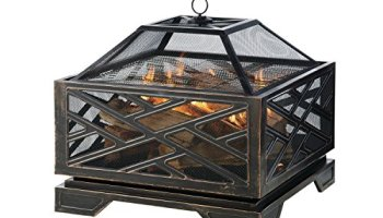 Pleasant Hearth Brant Round Fire Pit 30 Inch Patio Heater Store