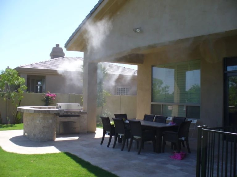 patio misting system patio misters