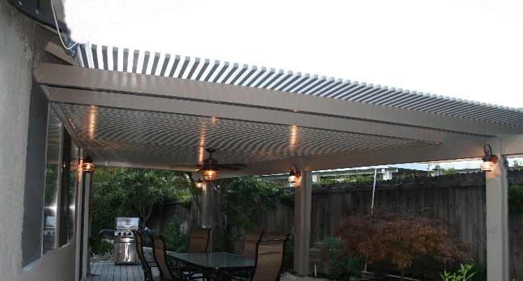 solid patio covers design gallery
