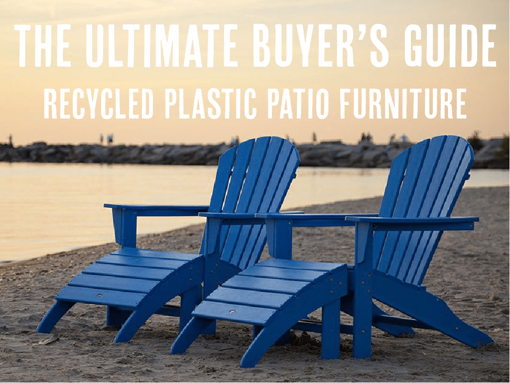 recycled plastic patio furniture buyer