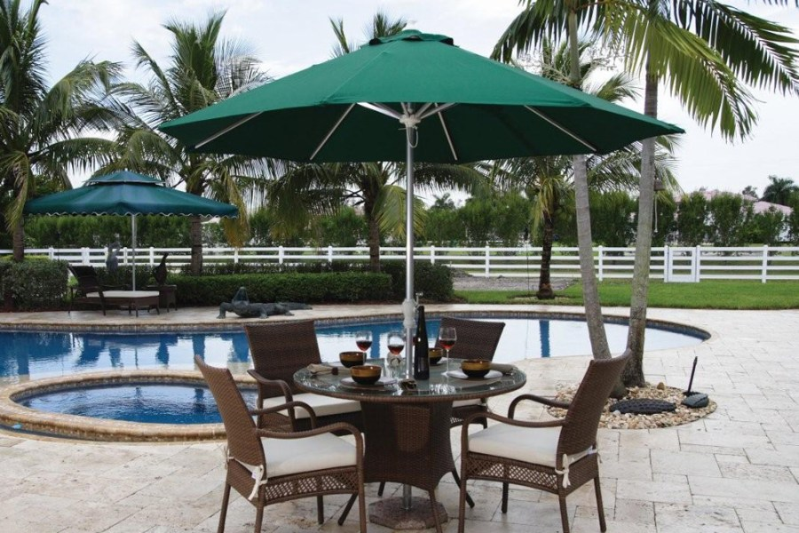 The Patio Umbrella Buyers Guide with All the Answers Table   Free Standing Umbrellas