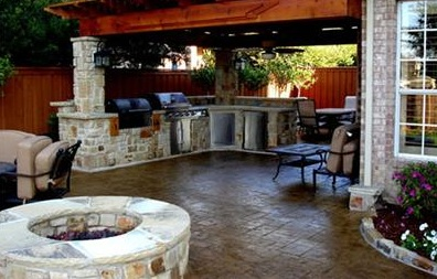 The Outdoor Kitchen: Make Your Patio Your Second Home on Outdoor Kitchen Patio  id=95526