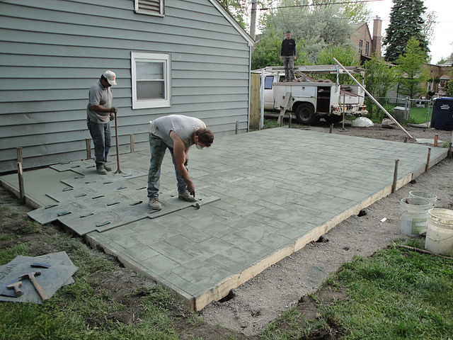 how to budget for a patio renovation
