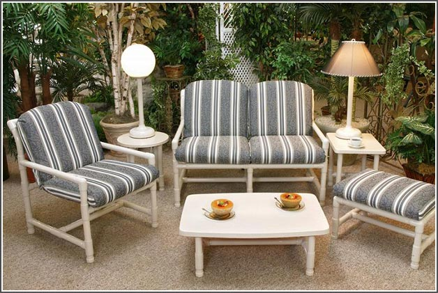 pvc patio furniture and outdoor deck