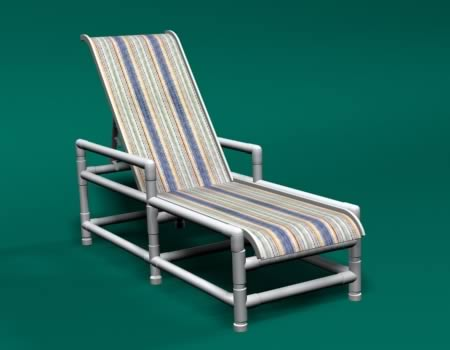 pvc sling furniture